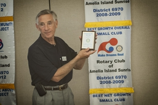 Rotary Club of Amelia Island Sunrise - Meeting April 12, 2013